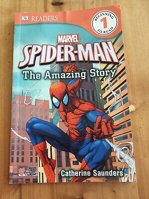 Children's Dk Readers Marvel Book: The Story Of Spider-Man (Reader Level 1)