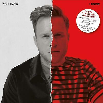 Olly Murs, you know I know, 2CD, feat.Shaggy, Demi Lovato,u.a,Nov.2018, neu, OVP