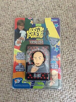 AUSTIN POWERS DR  Evil and Mini Me BOXED Talking [ McFarlane