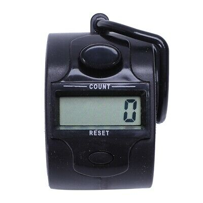 Mini 5 Digit Electronic LCD Display Digital Hand tally counter White T9T3