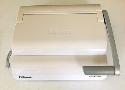 FELLOWES® PULSAR COMB Manual Binding Machine With Starter Kit, White