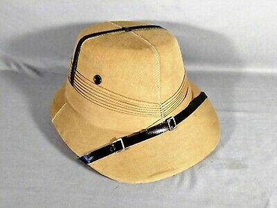 7d1a4b140638a7 Safari Pith Helmet Cork 7 3/8 Made in India for Zimmsons Oakland California.