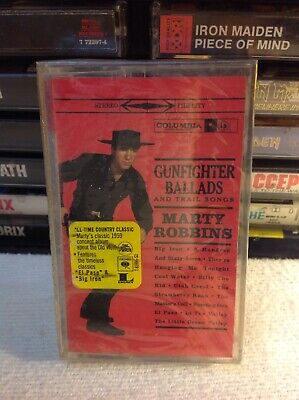 Marty Robbins More Gunfighter Ballads and Trail Songs Rare Cassette New Sealed