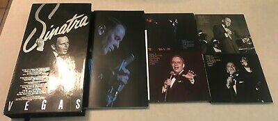 Frank Sinatra CD Box Set Ultimate Vegas 4 CD NO DVD Excellent Condition w/ Book