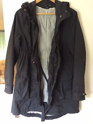 H&M Mama Maternity Navy Lightweight Parka/Jacket/Coat Size M