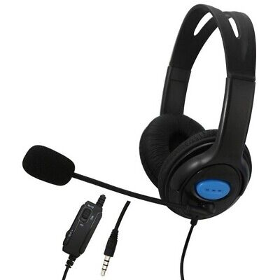 Wired Stereo Bass Surround Gaming Headset for PS4 New Xbox One PC with Mic