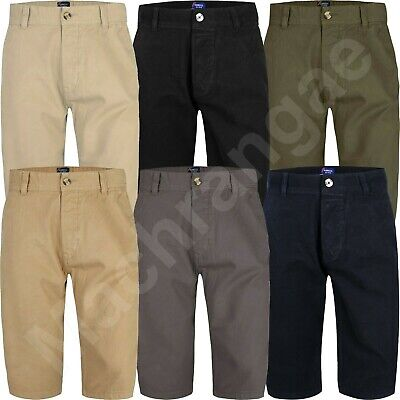 Summer Shorts Chino Knee Length Long 3/4 Casual Bottom Cotton Pant Branded