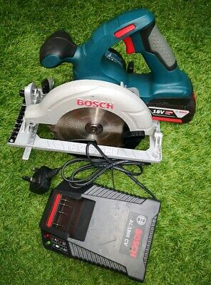 Bosch GKS 18V-LI Professional Cordless Circular Saw With 4Ah Battery And Charger