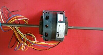 Fasco D289 shaded pole motor 1/10 HP  115V  5 SPDT 1050 RPM double shaft