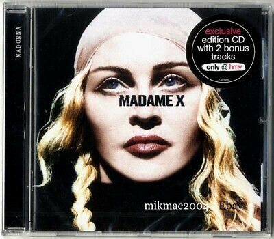 MADONNA - MADAME X Special Edition UK Cd Album with BONUS TRACKS HMV Sealed