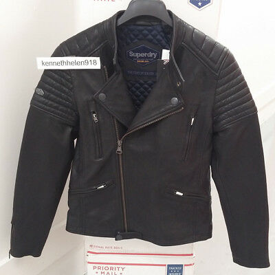 full range of specifications beautiful and charming 100% high quality SUPERDRY MENS SD Endurance Super Circuit Racer Leather ...