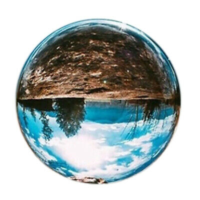 30Mm Clear Glass Crystal Ball Healing Sphere Photography Props Gifts H8W6