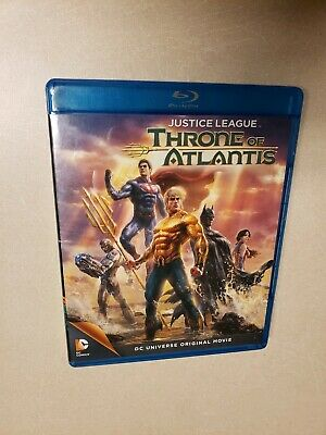Justice League: Throne of Atlantis (Blu-ray Disc, 2015, 2-Disc Set)