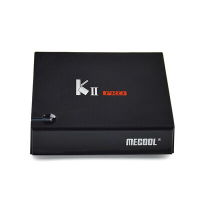 Mecool K-Ii Pro 4K 5GHz Wi-Fi Box TV Android 7.1 2go+16go Quad Core H.264 Prise