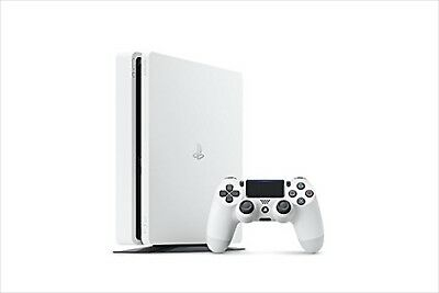 Sony PLAYSTATION 4 PS4 HDR Gioco Console Bianco 1TB Veloce CUH-2100BB02 Usato