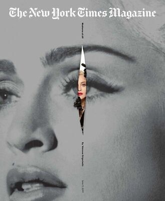 MADONNA at 60 - The NEW YORK TIMES Magazine USA 1 Day issue June 2019 Madame X