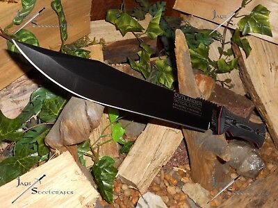 "M-tech Outlander/Bowie/Knife/Combat Machete//8Cr13MoV/Full tang/18"" SCRATCH&DENT"