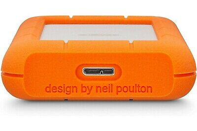 LaCie Rugged USB-C 4TB Portable External Hard Drive with 32GB Card Bundle