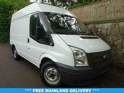 2012 12 Ford Transit 2.2 280 1D 99 Bhp Short Wheel Base Panel Van Diesel