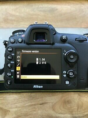 Nikon D7200 24.2 MP Digital SLR Camera MINT -2216 clicks!