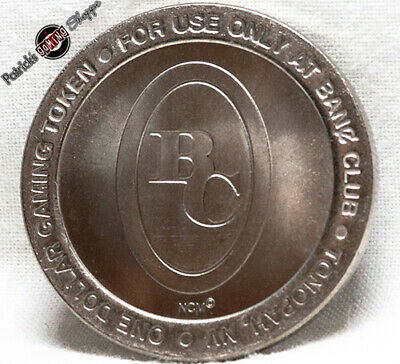 $1 Slot Token Coin Banc Club Casino 1998 Ncm Mint Tonopah Nevada Gaming Rare