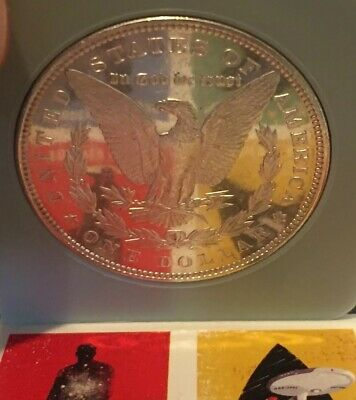 1890 S SILVER Morgan Dollar NGC MS 63 Redfield Hoard