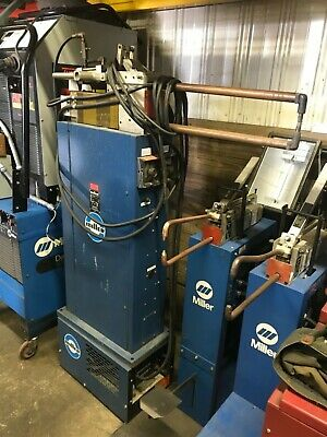Miller Spot Welder MPS-20AFT Air Operated Water Cooled 20 KVA - Will Ship