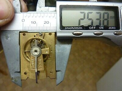 Old Carriage Clock  Platform Escapement--Spares Or Repair (A) Free Post