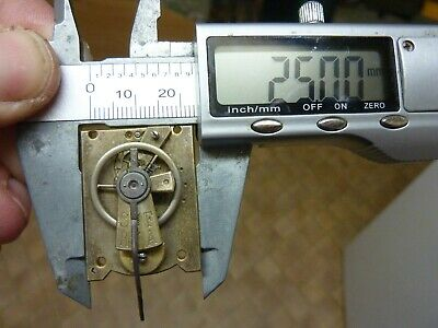 Old French Carriage Clock Platform Escapement--Spares Or Repair (D) Free Post