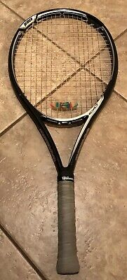 Prince EXO3 Silver 115 Oversized Tennis Racquet Power Level 1500 4 1/2 Grip