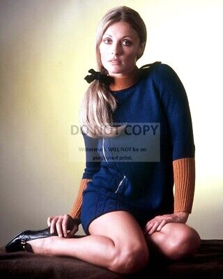 Actress Sharon Tate - 8X10 Publicity Photo (Dd592)
