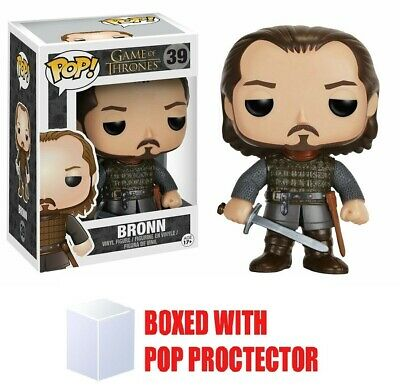 Funko POP Vaulted Game of Thrones: Bronn #39 With Protector RARE