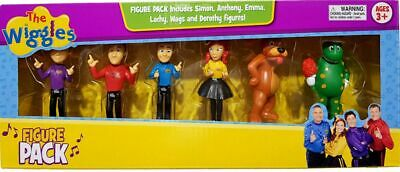 The Wiggles 6-Figure Pack (Simon Anthony Lachy Emma Wags & Dorothy)