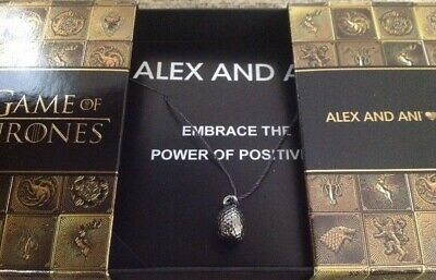 Alex And Ani Game Of Thrones Dragon Egg Expandable Necklace Limited Edition