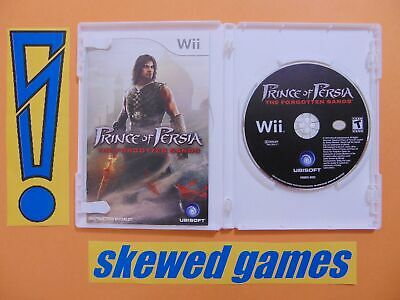 Prince Of Persia The Forgotten Sands - cib - Wii Nintendo
