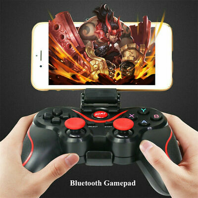 Gamepad Game Controller Wireless Bluetooth Remote For Android IOS Phone PC UK