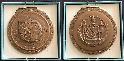 "Inaugural Medal for the 1964-1965 New York World's Fair - Bronze 2.5"" / 63.5mm"