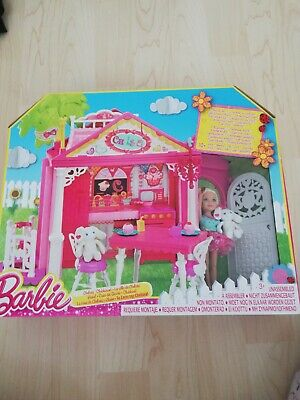 Barbie Chelsea Clubhouse Playset with doll  rare 2014 version ~NEW~