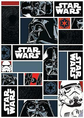 Associated Weavers 623135 Tapis Star Wars Icons Polyamide Noir 133 x 2 x 95...