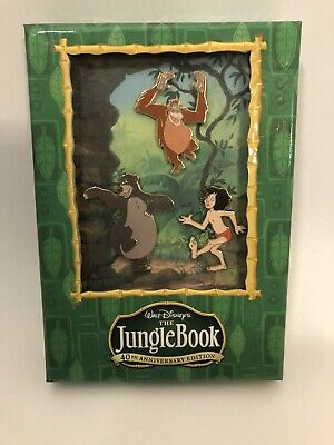 Walt Disney The Jungle Book 40th Anniversary Edition Pins 3 pin set