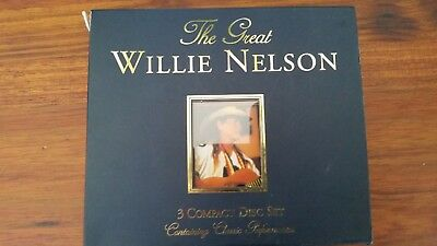 WILLIE NELSON  the great,   3cd box set
