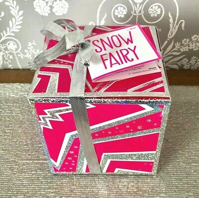 Lush SNOW FAIRY Gift Set Shower Gel Magic Wand Jelly Bath Bomb Body Conditioner