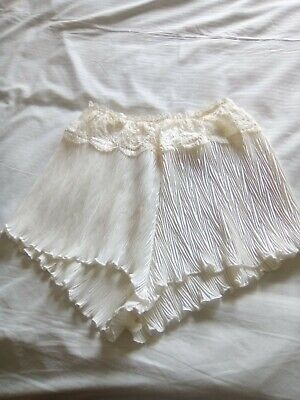 Ladies Cami/French Knickers, size 12, Cream