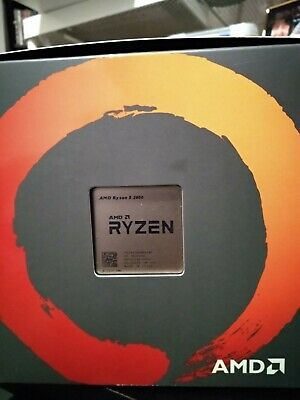 AMD Ryzen 5 2600 Processor 3.4 GHz AM4 BRAND NEW SEALED includes Wraith Stealth