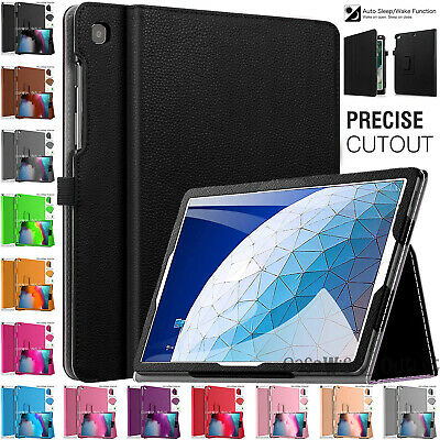 """Leather MAGNETIC Folio Fold Flip Stand Case Cover For Apple iPad Air 2019 10.5"""""""