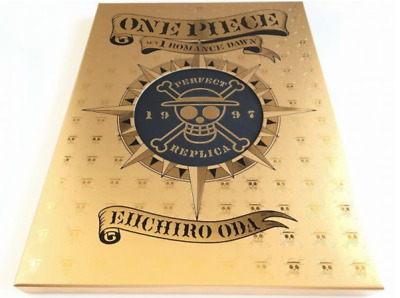 ONE PIECE ROMANCE DAWN 1st episode Manuscript Box Art Book