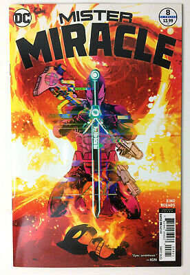 Mister Miracle #8 (Nm) 2018. Gerads Comic Variant . Cover B. B&B.