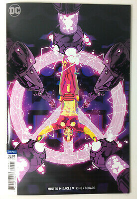 Mister Miracle #9 (Nm) 2018. Gerads Comic Variant. Cover B. B&B.