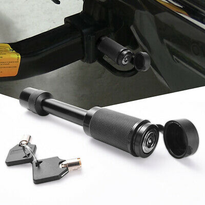 """Upgrade 5/8"""" RV Trailer Hitch Pin Lock fit 2""""x2"""" Towing Receivers Tube with 2Key"""