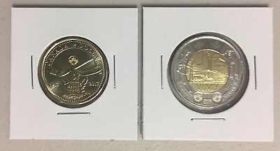 CANADA 2017 New Loonie/Toonie Kit Toronto ML + Battle of VIMY (BU from roll)